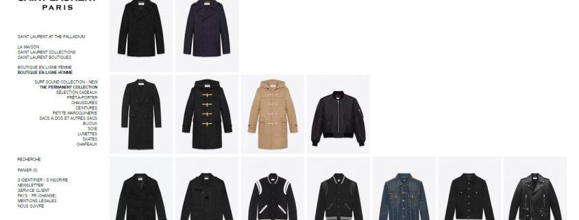 Boutique Yves Saint Laurent Hommes