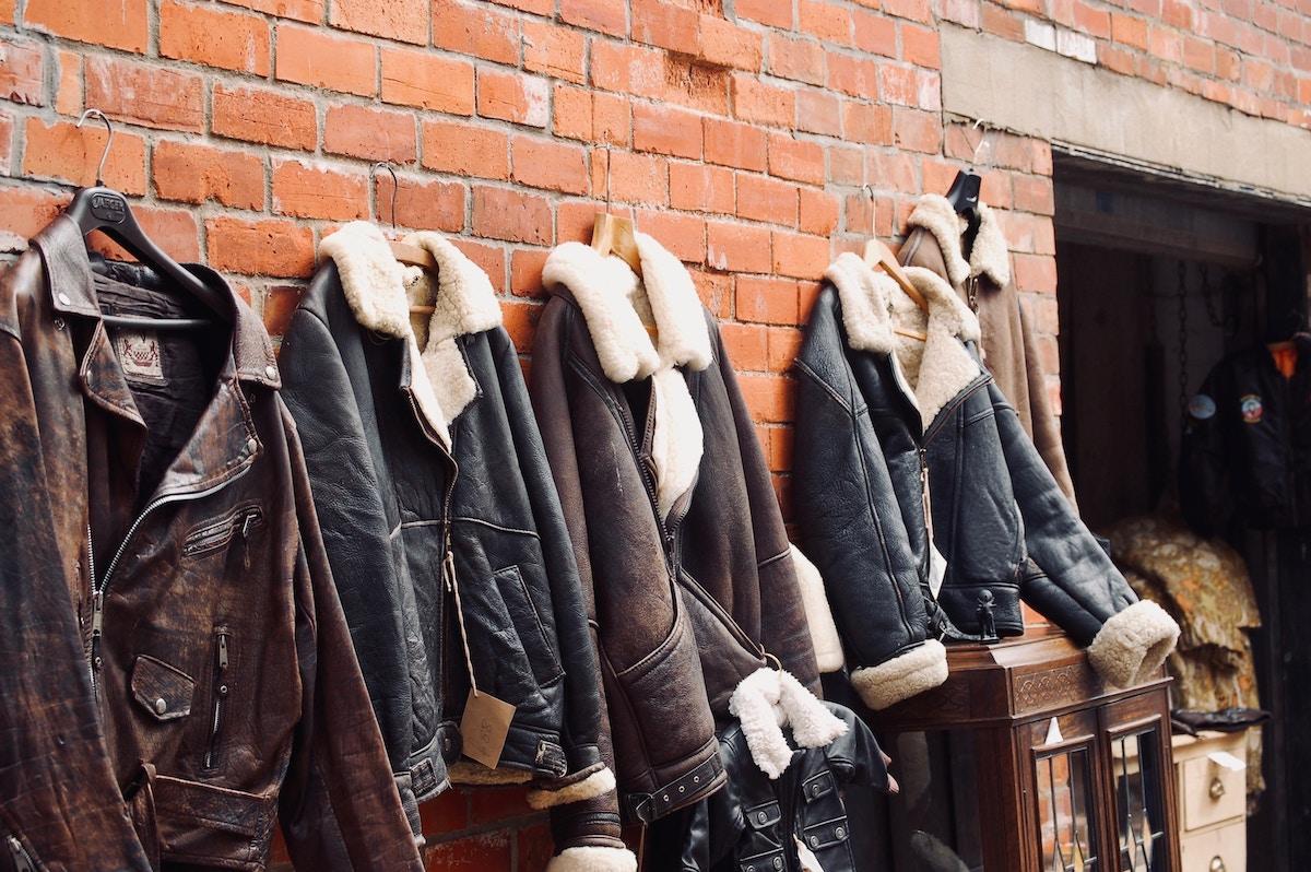 Vestes manteaux vintages
