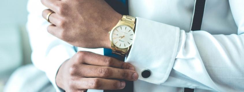 Montre accessoire gentleman